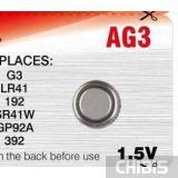 Батарейка Camelion AG3 1 шт.