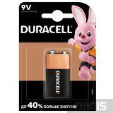 Батарейка 9V Крона Duracell Basic