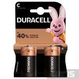 Батарейка LR14 Duracell Basic C 1.5V Alkaline 2 шт.
