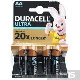 Батарейка АА Duracell Ultra LR06 1.5V Alkaline 4 шт