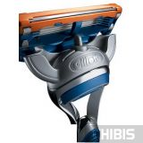 Gillette Fusion станок с лезвием вид сзади