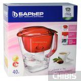 Упаковка фильтра для воды Барьер Гранд 4 л. Малахит