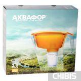 Фильтр-кувшин Аквафор Лаки (оранжевый) в упаковке