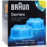 Набор из 2 х картриджей Braun CCR2 Clean Renew