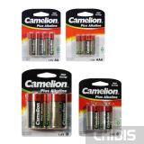 Батарейки Camelion Alkaline 1.5V AA / AAA / LR14 / LR20 и 9V комплект