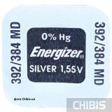 l736 батарейка Energizer 1.55V Silver Oxide 1 шт