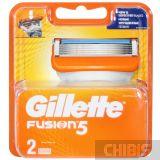Gillette Fusion кассеты для станка 2 шт.