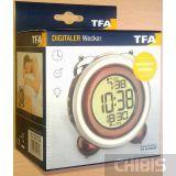 Настольные часы TFA 60201605 в упаковке