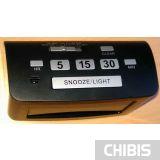 Настольные часы TFA Siesta 60253201 кнопки управления