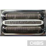 Сетка Braun 32S вид сверху, две сетки, триммер между ними и микрогребни