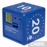 Таймер цифровой TFA куб синий 38203606 - цифровой дисплей