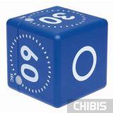 Таймер цифровой TFA куб синий 38203606