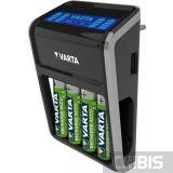 Зарядное устройство Varta LCD PLUG CHARGER + 4 AA 2100 mAh 57687101441