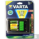 Зарядное устройство АА ААА Varta LCD SMART Charger